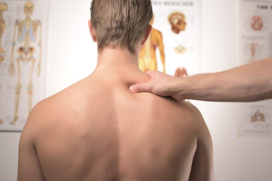 Massage Suédois trapèze droit