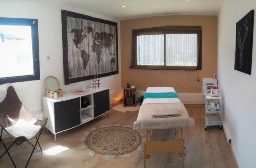 vue d'ensemble de l'espace massage de la ligne 24