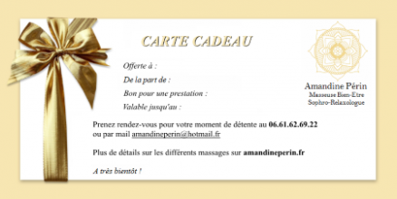 miniNew Carte Cadeau